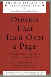 Dreams That Turn Over a Page by Jean-Michel Quinodoz