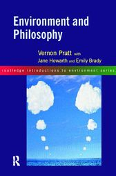 Environment and Philosophy by Emily Brady
