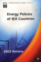 Energy Policies of IEA Countries by Organisation for Economic Co-operation and Development