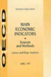 Main Economic Indicators - Sources and Methods by Organisation for Economic Co-operation and Development
