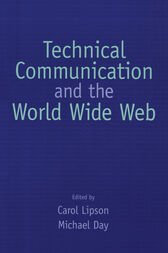 Technical Communication and the World Wide Web by Carol Lipson