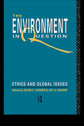 Environment In Question by David E. Cooper