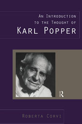 An Introduction to the Thought of Karl Popper by Roberta Corvi