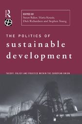 Politics of Sustainable Development by Susan Baker
