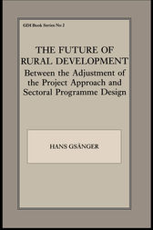 The Future of Rural Development by Hans Gsanger