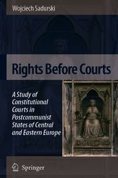 Rights Before Courts by Wojciech Sadurski