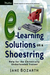 E-Learning Solutions on a Shoestring by Jane Bozarth