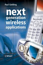 Next Generation Wireless Applications by Paul Golding