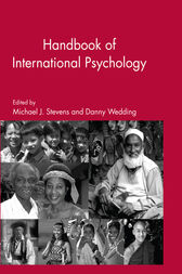The Handbook of International Psychology by Michael J. Stevens