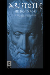 Aristotle by David Ross