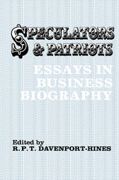 Speculators and Patriots by R.P.T. Davenport-Hines
