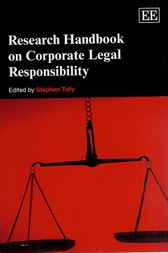 Research Handbook on Corporate Legal Responsibility by S. Tully