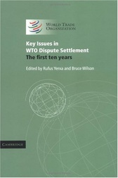 Key Issues in WTO Dispute Settlement by Rufus Yerxa