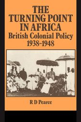 The Turning Point in Africa by Robert D. Pearce