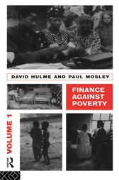 Finance Against Poverty: Volume 1 by Hulme David
