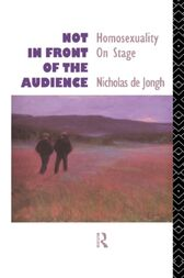 Not in Front of the Audience by Nicholas de Jongh