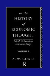 On the History of Economic Thought by A. W. Bob Coats