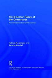Third Sector Policy at the Crossroads by Helmut K. Anheier