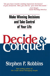 Decide and Conquer by Stephen P. Robbins