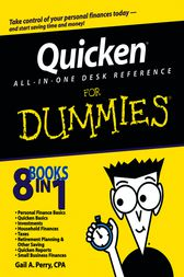 Quicken All-in-One Desk Reference For Dummies by Gail A. Perry