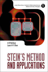 Stein's Method And Applications by A. D. Barbour