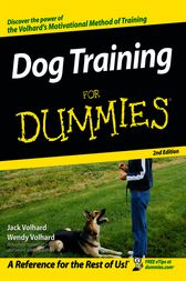 Dog Training For Dummies by Jack Volhard
