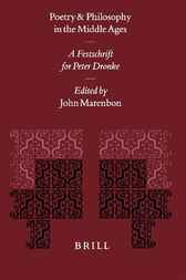 Poetry and philosophy in the Middle Ages by J. Marenbon