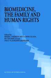 Biomedicine, the family, and human rights by M.-T. Meulders-Klein
