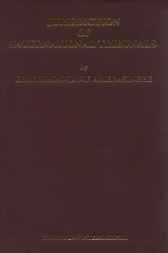 Jurisdiction of international tribunals by C.F. Amerasinghe