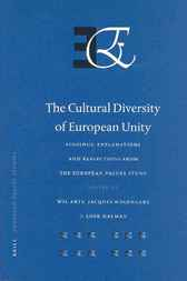 The cultural diversity of European unity by W. Arts