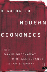 A Guide to Modern Economics by Michael Bleaney