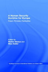 A Human Security Doctrine for Europe by Marlies Glasius