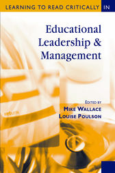 Learning to Read Critically in Educational Leadership and Management by Mike Wallace
