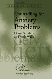 Counselling for Anxiety Problems by Diana J Sanders