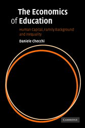 The Economics of Education by Daniele Checchi