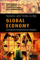 Nations and Firms in the Global Economy by Steven Brakman