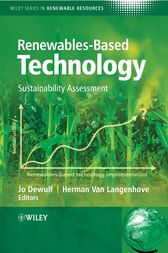 Renewables-Based Technology by Jo Dewulf