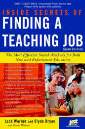 Inside Secrets to Finding a Teaching Job by Clyde Bryan