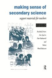Making Sense of Secondary Science by Rosalind Driver