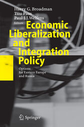 Economic Liberalization and Integration Policy by Harry G. Broadman