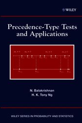 Precedence-Type Tests and Applications by N. Balakrishnan