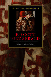 The Cambridge Companion to F. Scott Fitzgerald by Ruth Prigozy