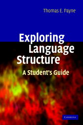 Exploring Language Structure by Thomas Payne