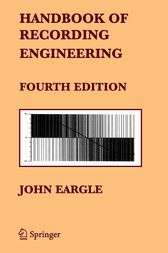 Handbook of Recording Engineering by John Eargle