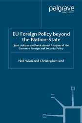 EU Foreign Policy beyond the Nation State by Neil Winn