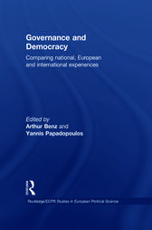 Governance and Democracy by Arthur Benz