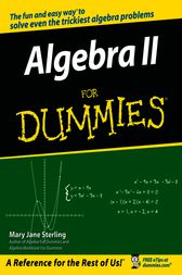 Algebra II For Dummies by Mary Jane Sterling