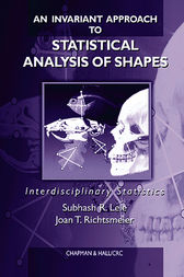 An Invariant Approach to Statistical Analysis of Shapes by Subhash R. Lele