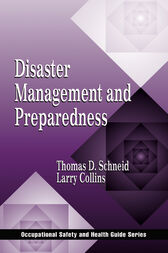 Disaster Management and Preparedness by Larry R. Collins