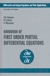 Handbook of First-Order Partial Differential Equations by Andrei D. Polyanin